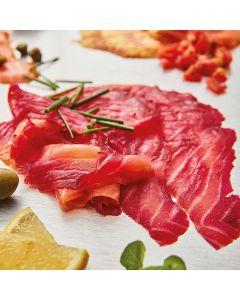 Bleiker's Mulled Port Smoked Salmon