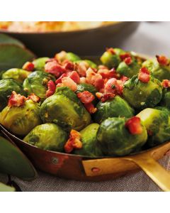 Booths Brussels Sprouts & Smoked Pancetta
