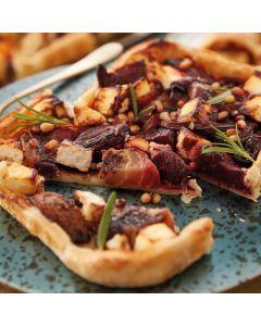 Booths Roasted Beetroot, Feta & Pine Nut Tart