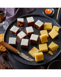 Booths Christmas Cake & Cheese Platter