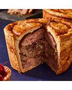 Toppings Medium Game & Poultry Pork Pie 1.1kg