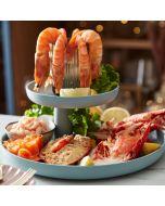 Bleiker's Whole Royal Fillet of unsliced oak-smoked Scottish salmon.