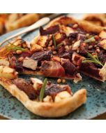 Booths Roasted Beetroot, Feta & Pine Nut Tart