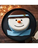 Brysons Snowman Iced Sponge Cake
