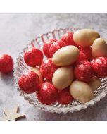 Booths Almonds & Hazelnuts in White Chocolate & Raspberry