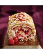 Lathams Raspberry & Lemon Meringue Roulade
