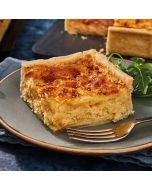 Toppings Rectangle Cheese & Onion Quiche 1.3kg