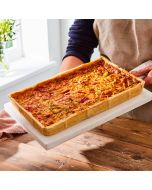 Toppings Rectangle Hot Chilli & Sweet Peppers Quiche 1.3kg