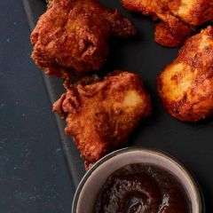 Booths Fiery Keralan Chicken Bites with a Mango Dip