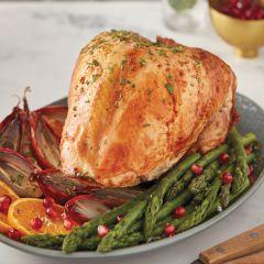 Gressingham Organic Bronze Free-Range Turkey Crown 2.5kg - 3kg