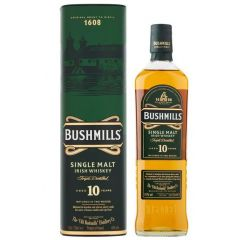 Bushmills 10 Year Old Irish Whiskey