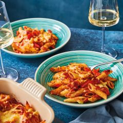 Booths Red Pepper, Tomato & Mozzarella Pasta Bake Meal Kit