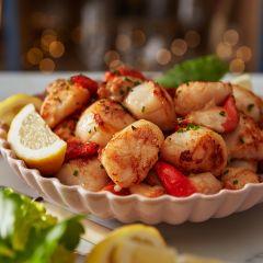 Bleiker's Bucks Fizz Smoked Scottish Salmon with Gold Lustre