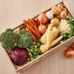 Booths Organic Vegetable Box