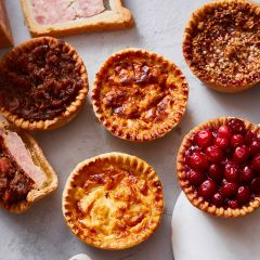 Toppings Dinky Pork Pie & Quiche Selection