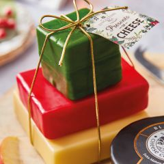 Singletons Three Waxed Present Cheeses
