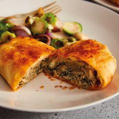 Booths Wild Mushroom, Spinach & Ricotta Filo Parcels