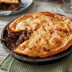 Booths Beef & Lancashire Black Pudding Pie