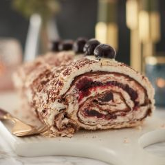 Lathams Black Forest Roulade