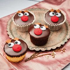 Brysons Rudolph Cupcakes