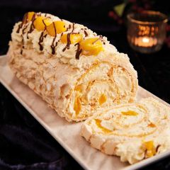 Lathams Mango & Passion Fruit Roulade