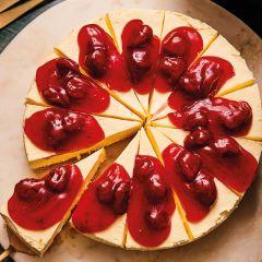 Lathams Strawberry Cheesecake