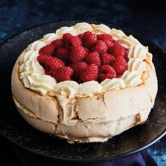 Lathams Raspberry Pavlova
