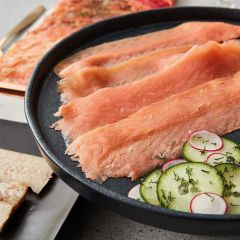 Forman's Hand-Sliced Smoked Wild Scottish Salmon