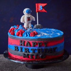 Astronaut Celebration Cake
