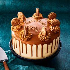 Biscoff Celebration Cake