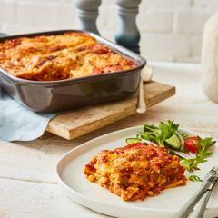 Vegetable Lasagne Portion