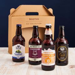 Booths Cheshire Beer Box