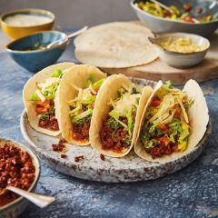 Booths Loaded Beef Tortillas with Chimichurri Salsa & Sour Cream Meal Kit