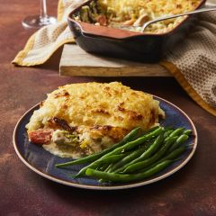 Booths Creamy Chicken & Leek Mashed Potato Topped Pie Meal Kit