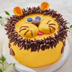 Lion Celebration Cake