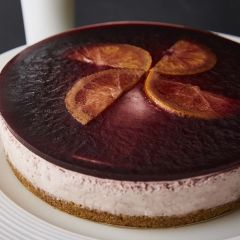 Booths Mulled Wine Cheesecake