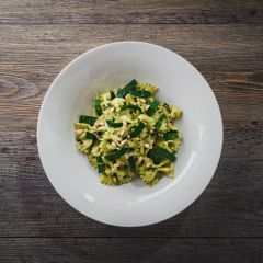 Lincolnshire Salad Pesto, Spinach & Pine Nut Pasta