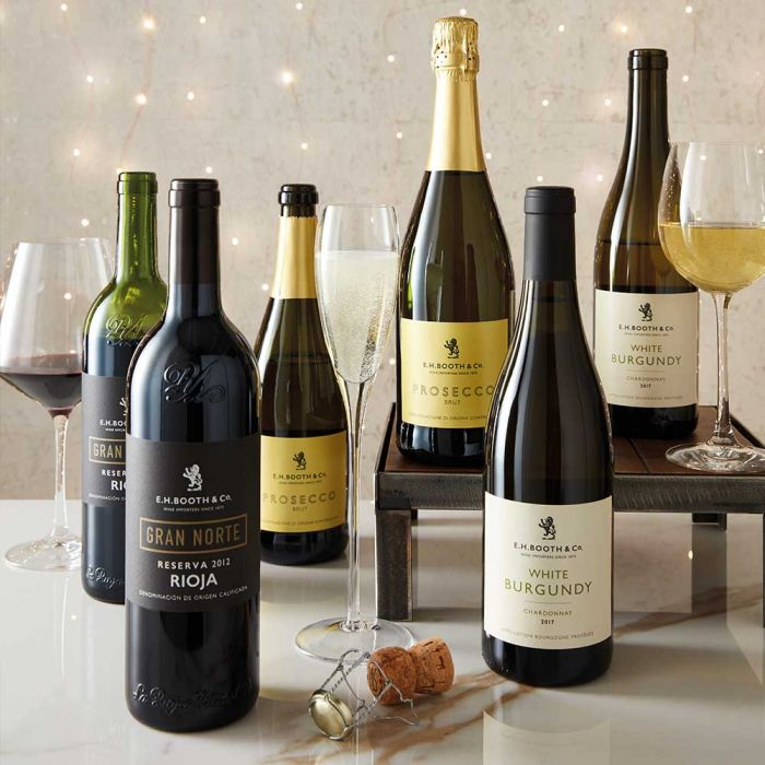 EH Booths & Co. Christmas Wine Selection