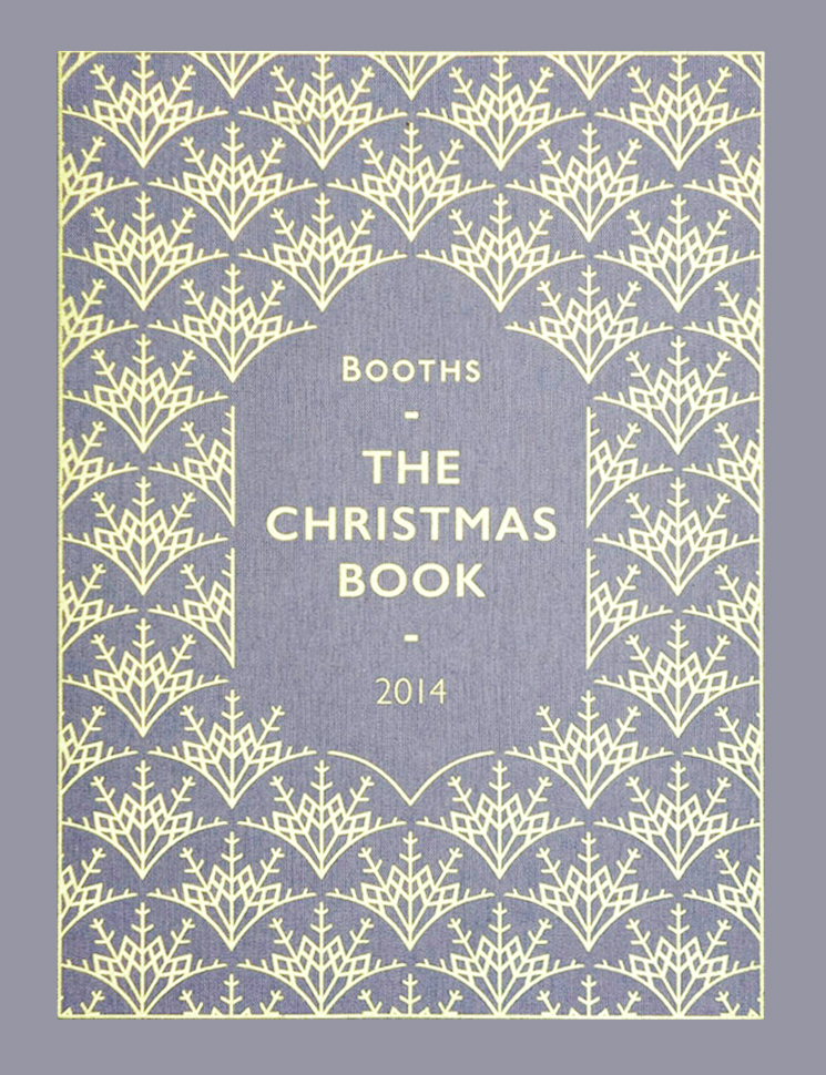 Booths Christmas Book Cover 2014