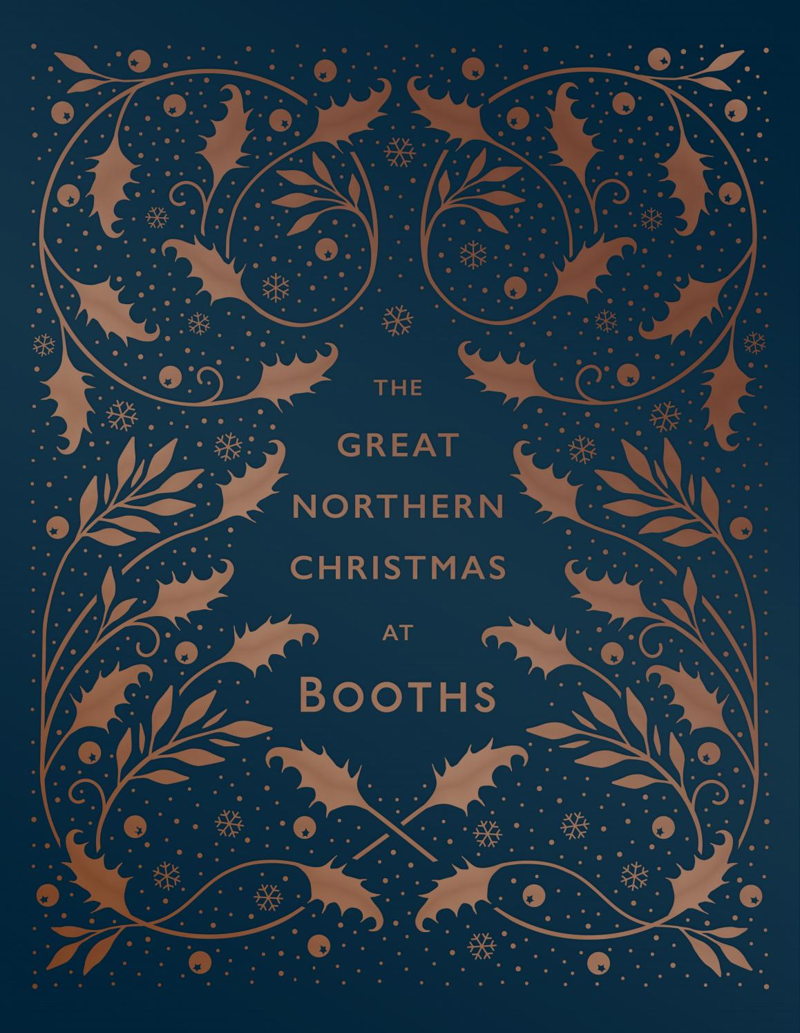 Booths Christmas Book Cover 2016