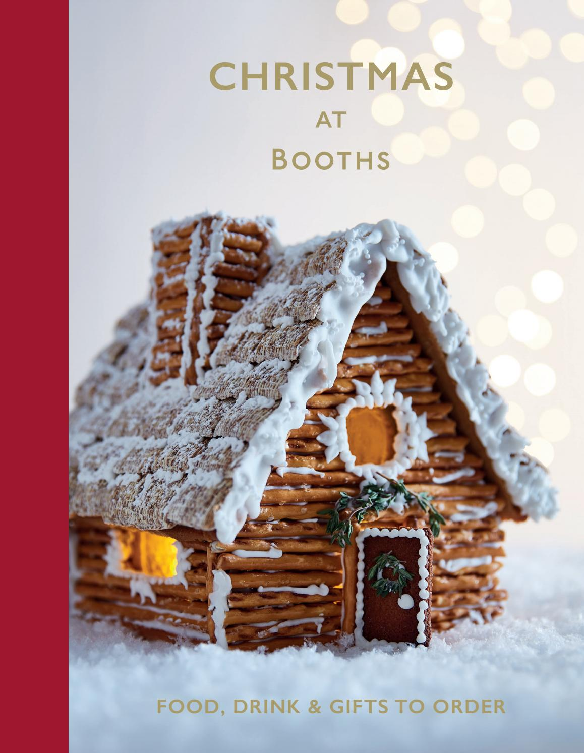 Booths Christmas Book Cover 2018